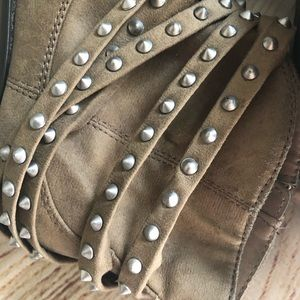 JustFab Shoes - Just fab studded booties